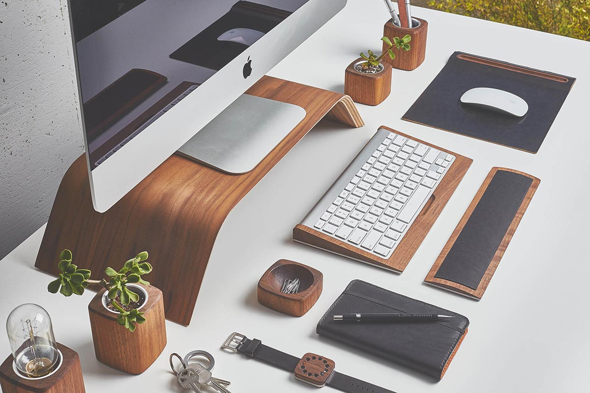 Re Style Your Workspace W This Designer Desk Collection