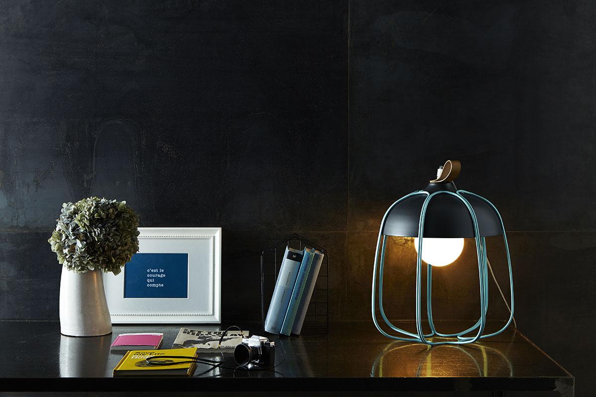 Tull Metal Cage Desk Amp Ceiling Lamp Lighting