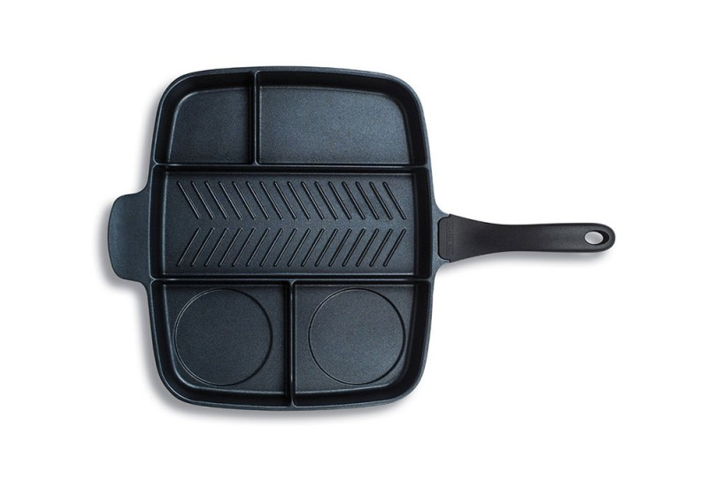 divided skillet pan mp1 800x560 - Master Pan Divided Skillet