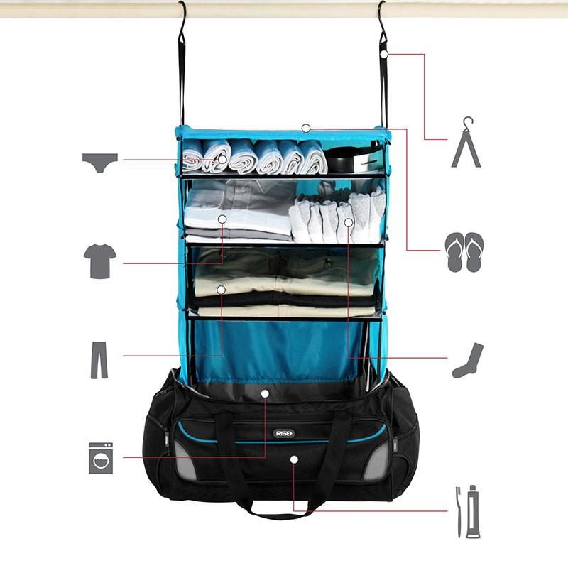 duffle bag storage 2 800x800 - Rise Weekender