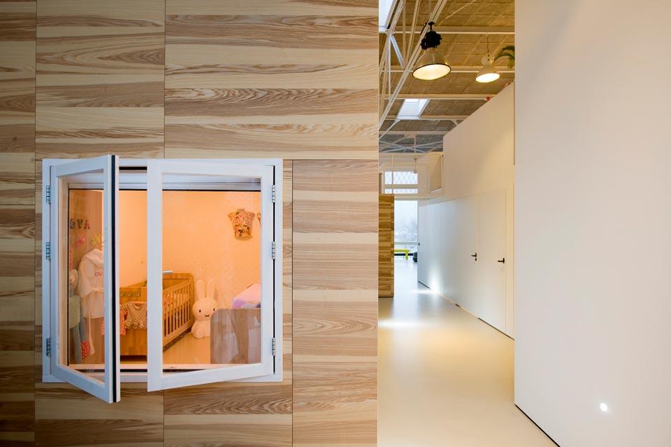 duplex loft inner window - House like Village
