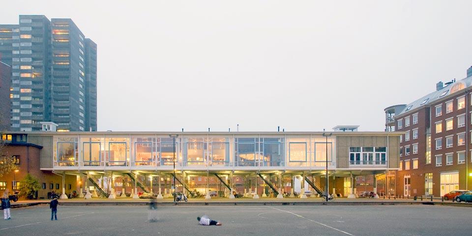 duplex loft open space exterior - House like Village