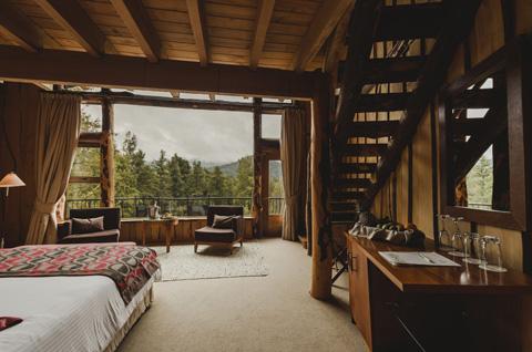 Huilo huilo eco cabins beautiful interiors - Casas de campo interiores ...