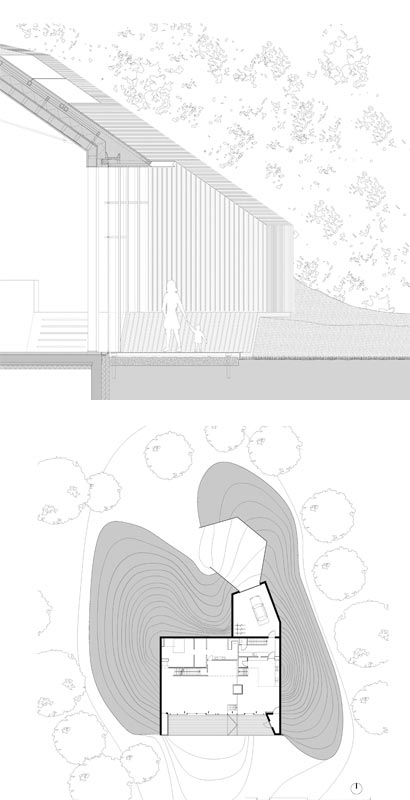 eco friendly home design plan - Dutch Mountain: A Surprise Filled Eco Friendly Home 'in' a Hill