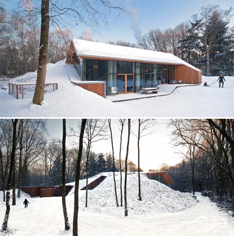 Dutch Mountain: A Surprise Filled Eco Friendly Home \'in\' a Hill ...