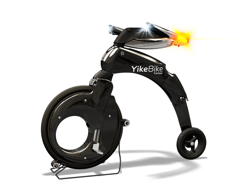 electric bike yikebike 41 - YikeBike: super light electric bike