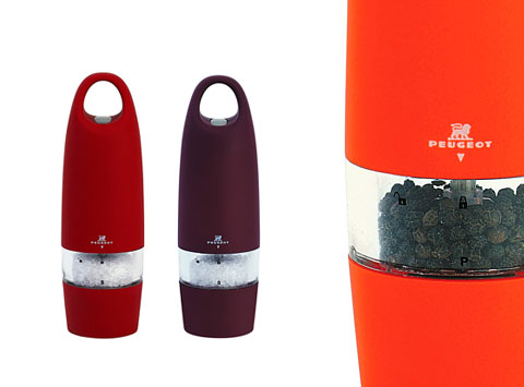 electric salt pepper mill - Spicy Grinder: Peugeot Zest Electric Salt/Pepper Mill