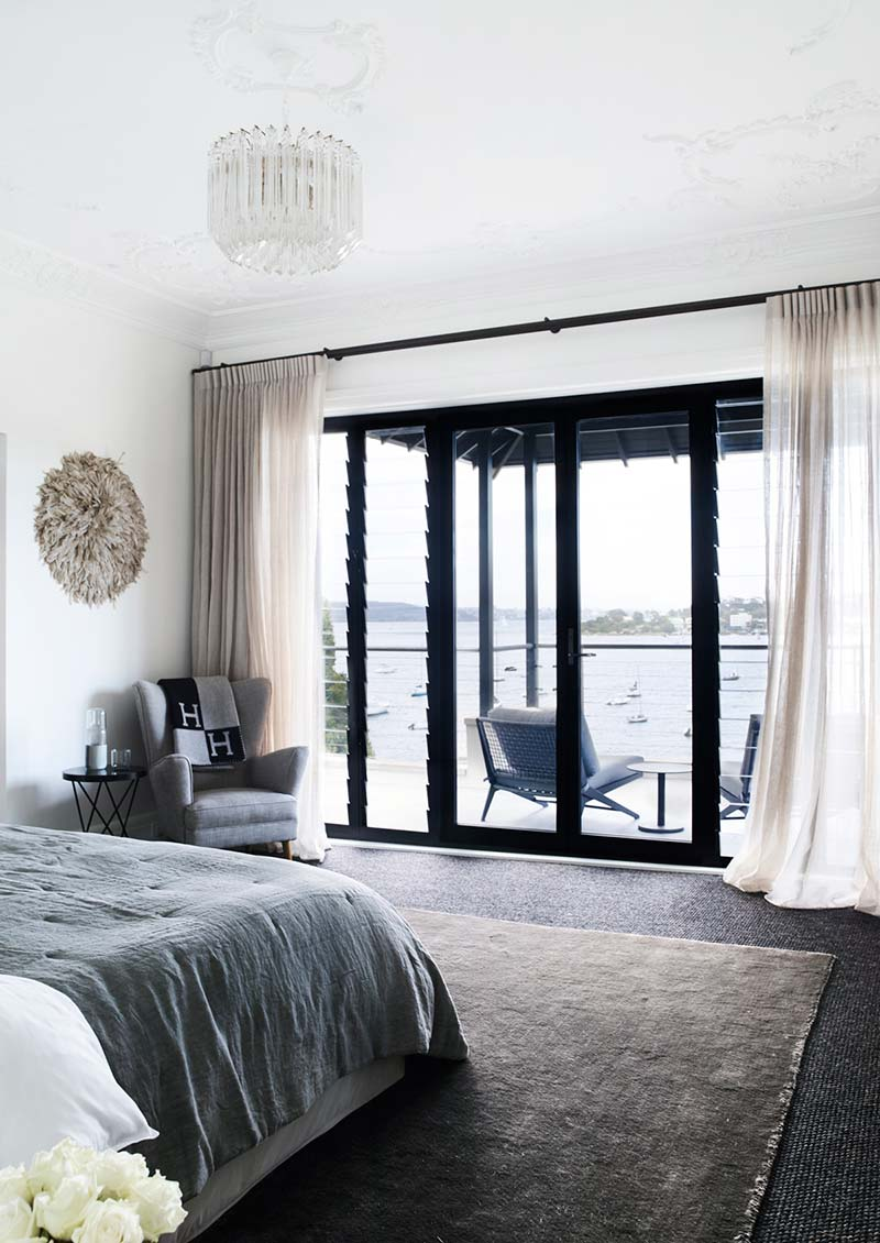 elegant soft interior design bedroom ba - Parsley Bay Residence