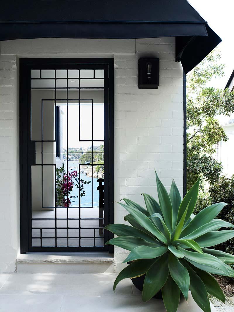 elegant soft interior design entry ba - Parsley Bay Residence