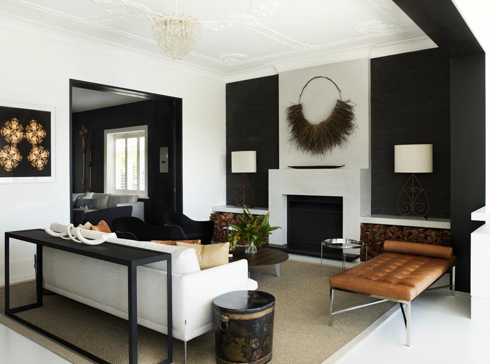 elegant soft interior design living ba - Parsley Bay Residence