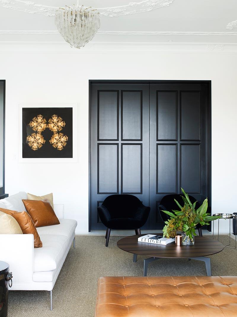 elegant soft interior design living ba2 - Parsley Bay Residence