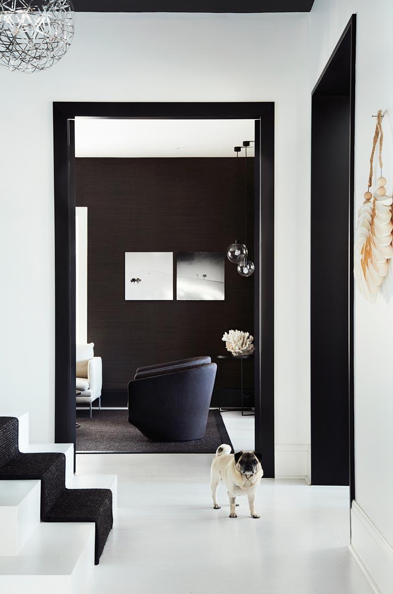 elegant soft interior design space ba - Parsley Bay Residence