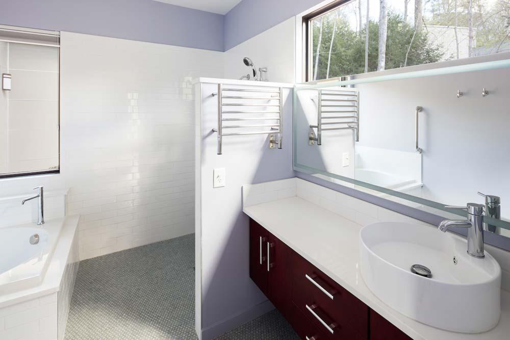 empty nest house bathroom design acs - The Professor's House