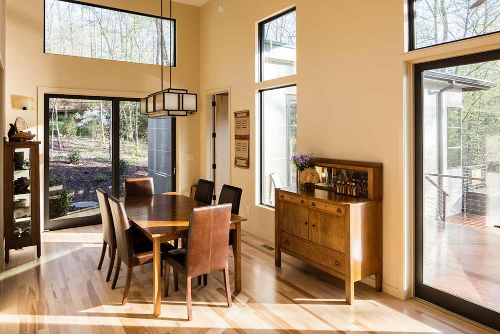 empty nest house dining room design acs - The Professor's House