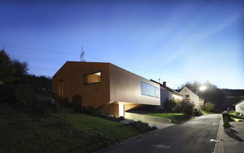 Energy Haus Sustainable Modernism In A German Village Modern
