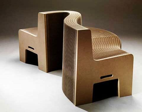 Flexilove expanding paper seat furniture - Expand furniture ...