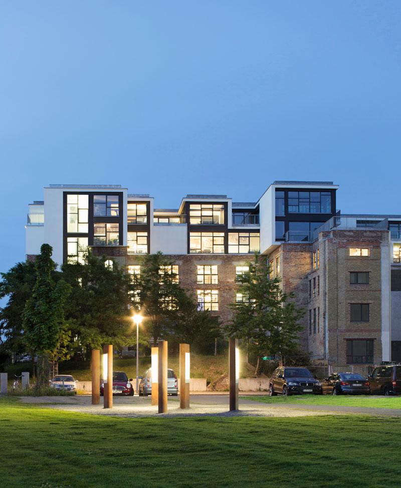 Modern Architecture Berlin factory berlin - modern architecture