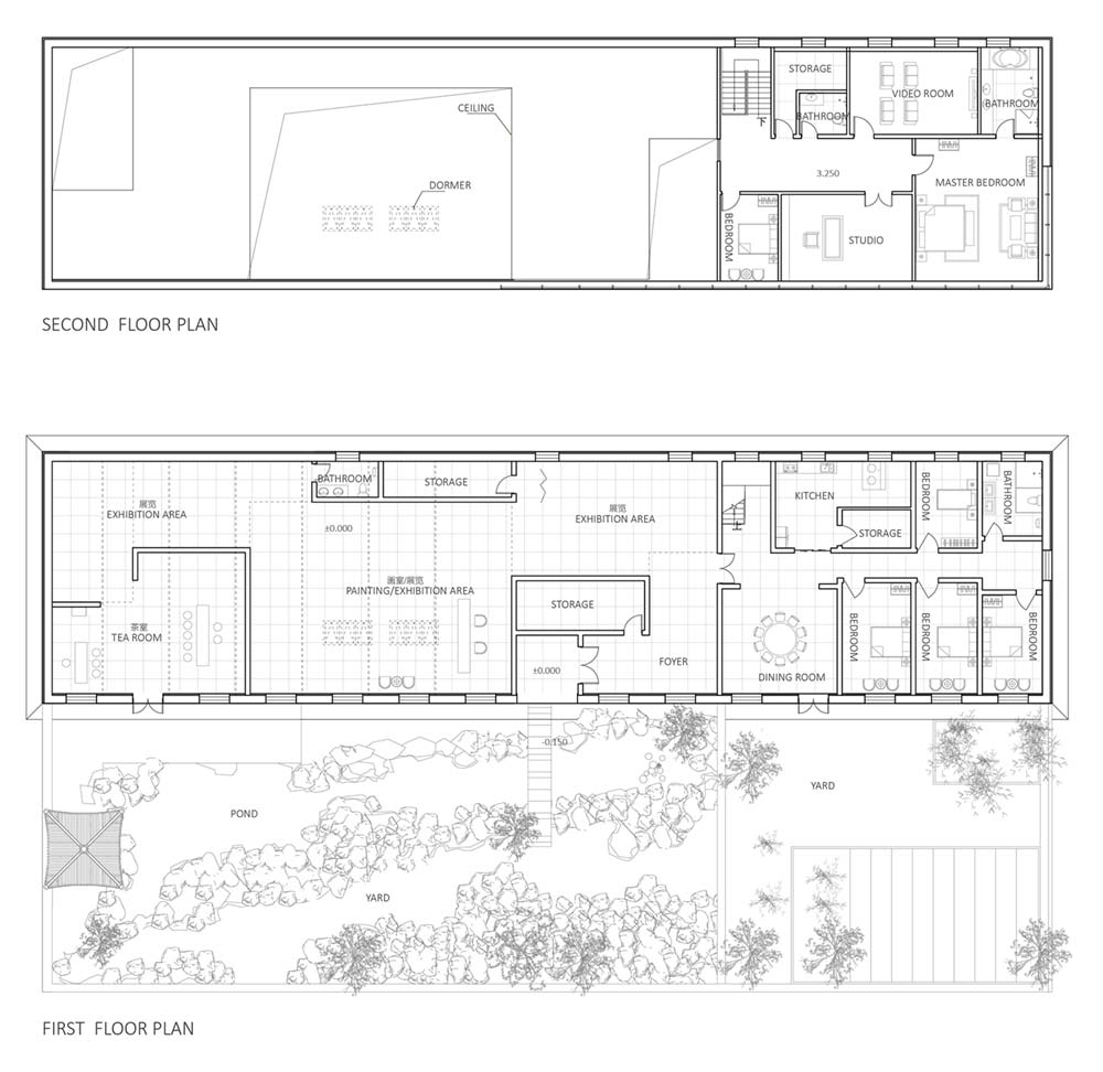 Factory Home Studio Design Plan