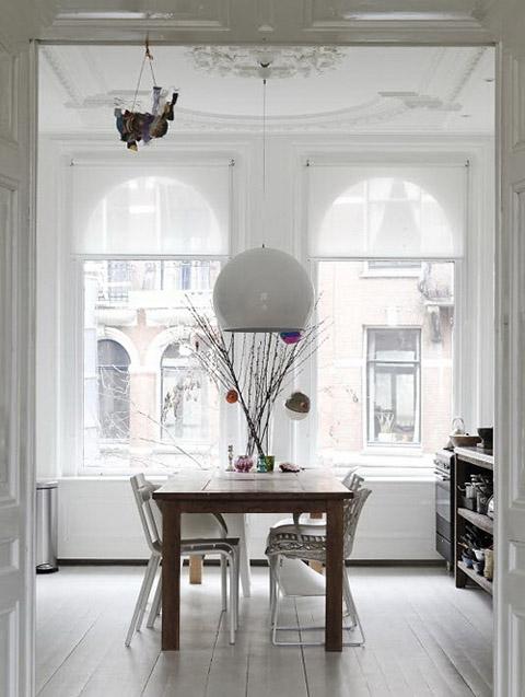 interior design -home in Amsterdam - dinning room