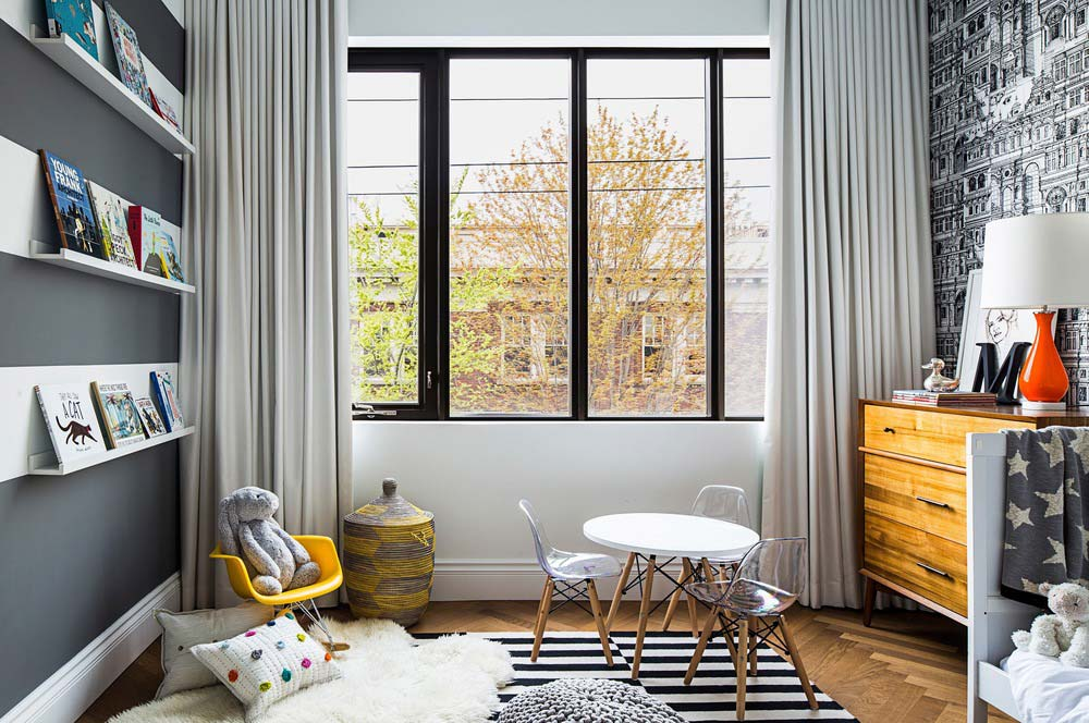 family home luxury interiors kids - Home in Little Italy