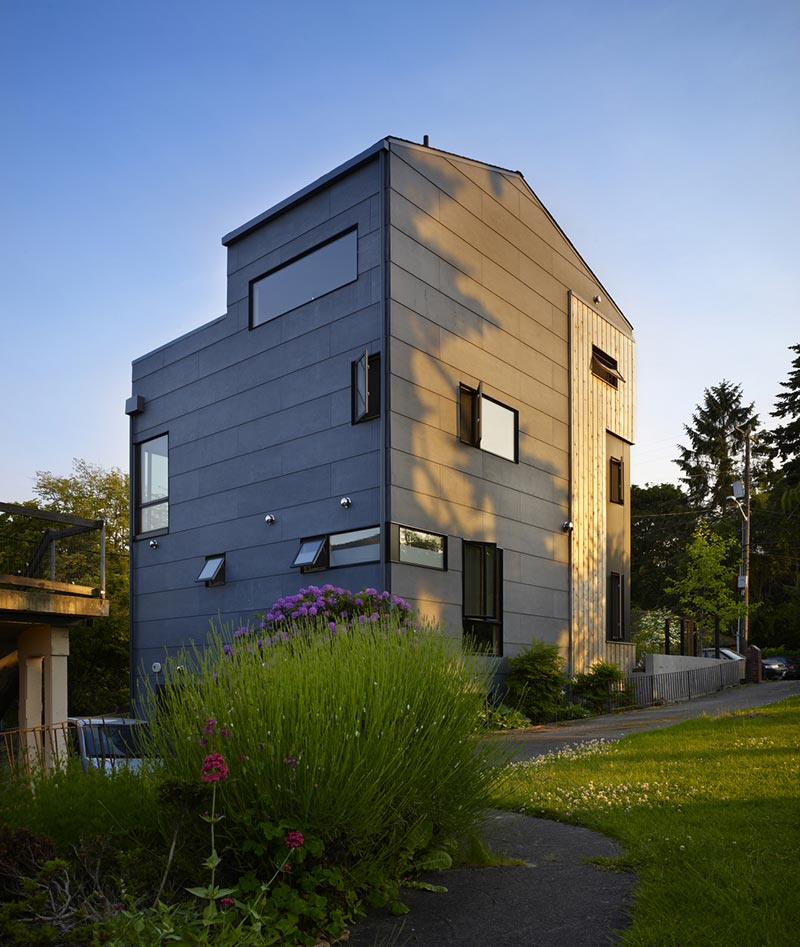 family house design back cda - Lobster Boat House