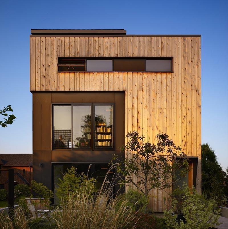 family house design facade cda - Lobster Boat House