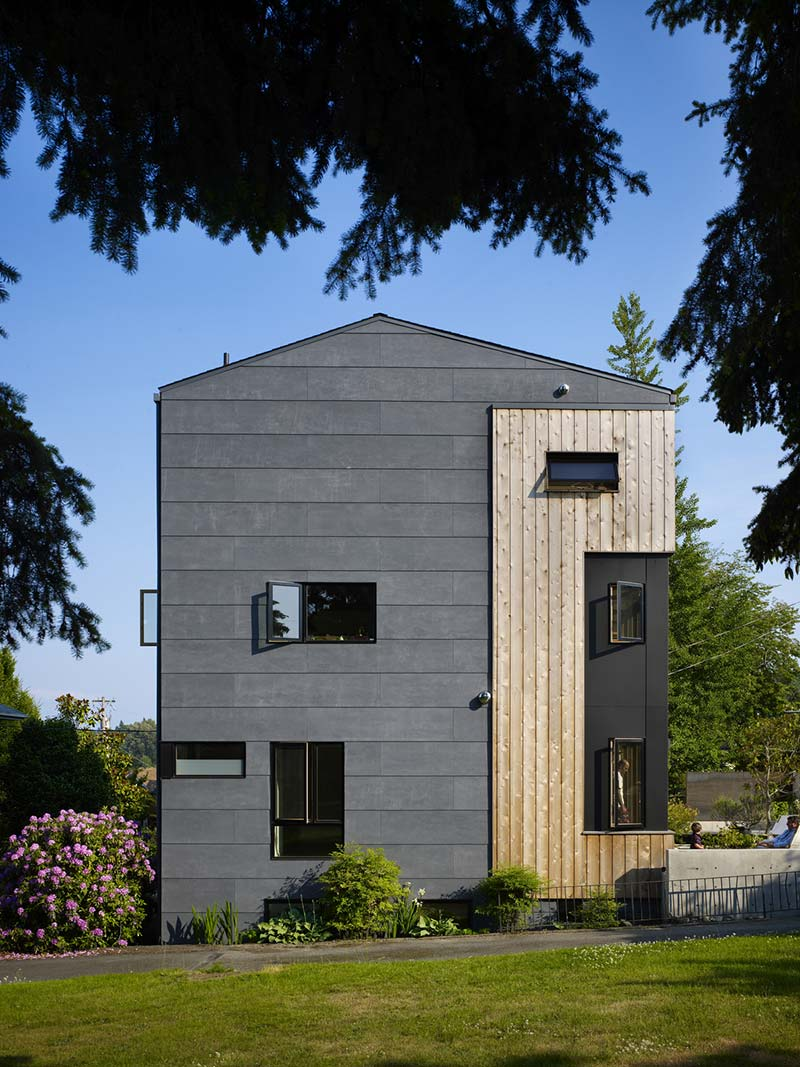 family house design side cda - Lobster Boat House