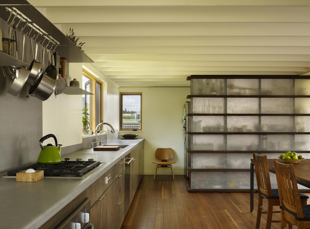 family house kitchen design cda - Lobster Boat House