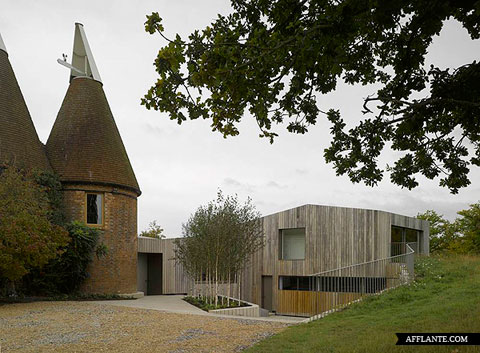 farm house extension dm 1 - Old Bearhurst: bringing ancient brick into a modern era