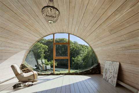 Hawthbush extension a barrel vaulted house in the country home extensions - Vult extension ...