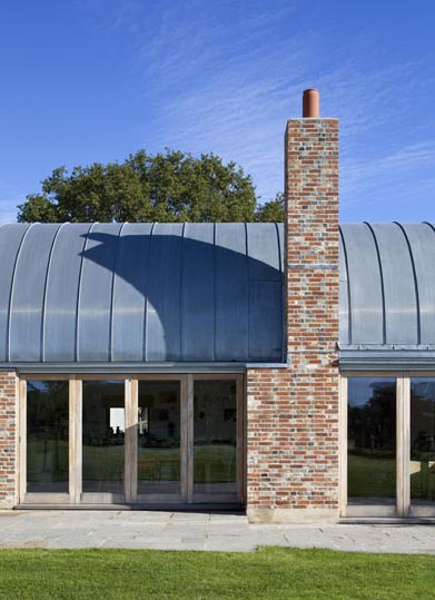 Hawthbush Extension A Barrel Vaulted House In The Country