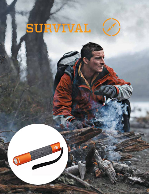 the best attitude 2c376 e9fd2 Bear Grylls Intense Torch: Don't Worry About Getting Lost ...
