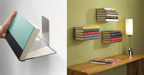 floating book shelf - Floating Book Shelves