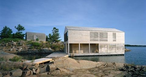 Prefab floating house coastal homes prefab homes - Floating prefabricated home ...