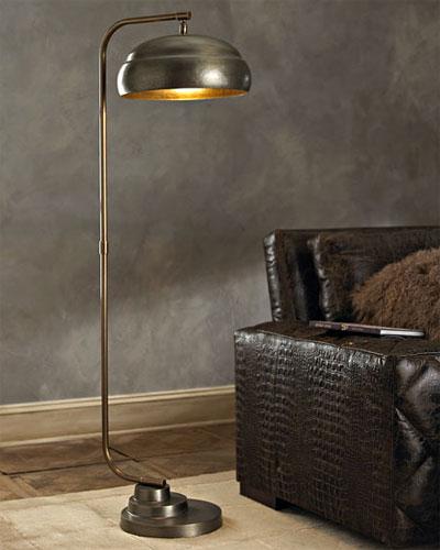 steampunk floor lamp a bright spot