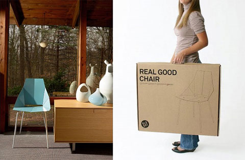 Real Good Chair: Follow The Lines. Foldable Chair Bludot 9