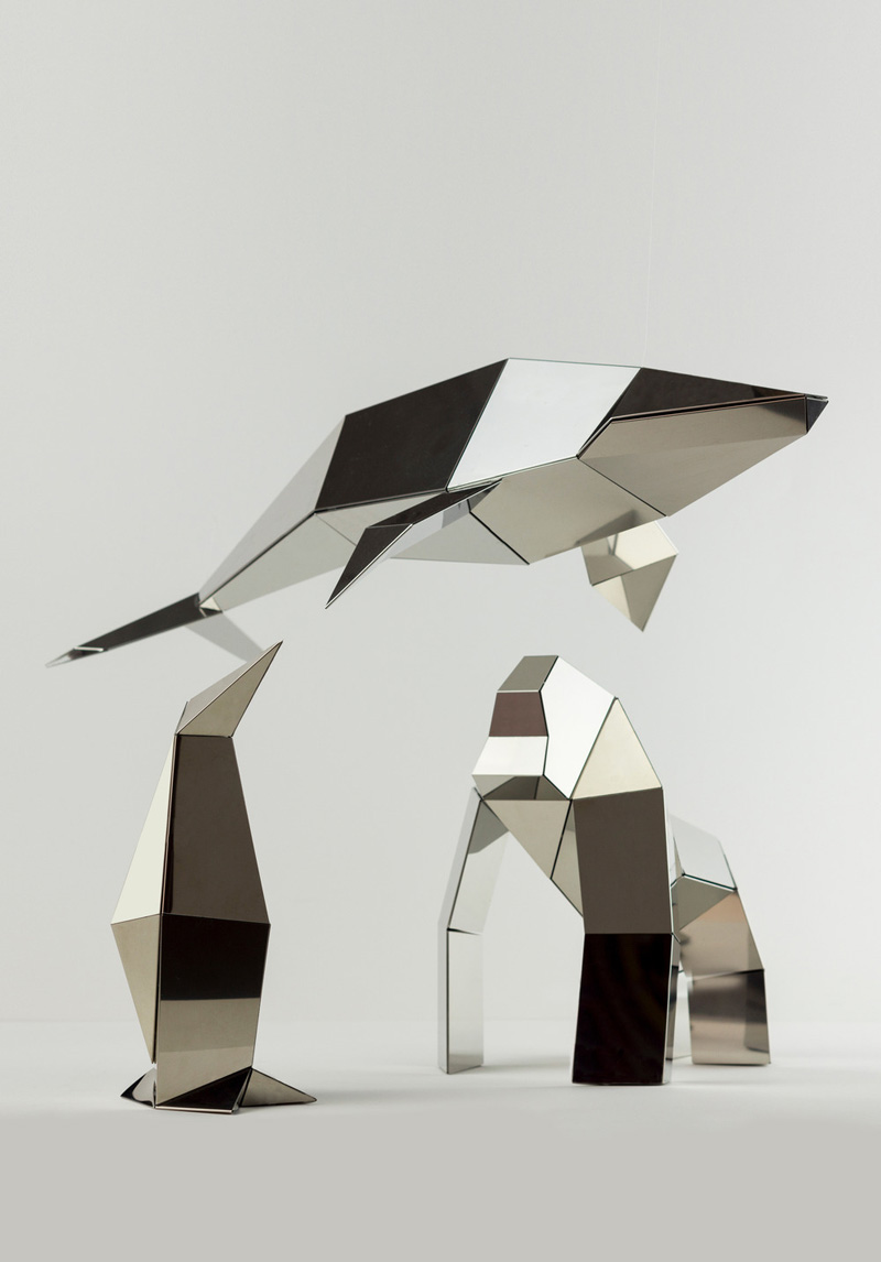 foldable-sculpture-poligon