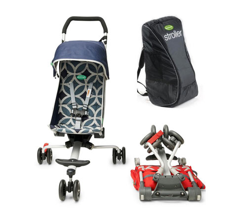 QuickSmart Backpack Stroller: Ready to roll - Kids
