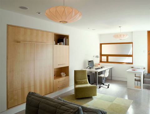 Folding Wall Bed Small Spaces