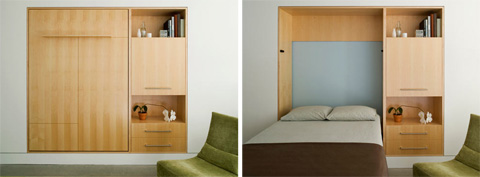 Wall Folding Beds Into Wall Folding Wall Bed - Sma...