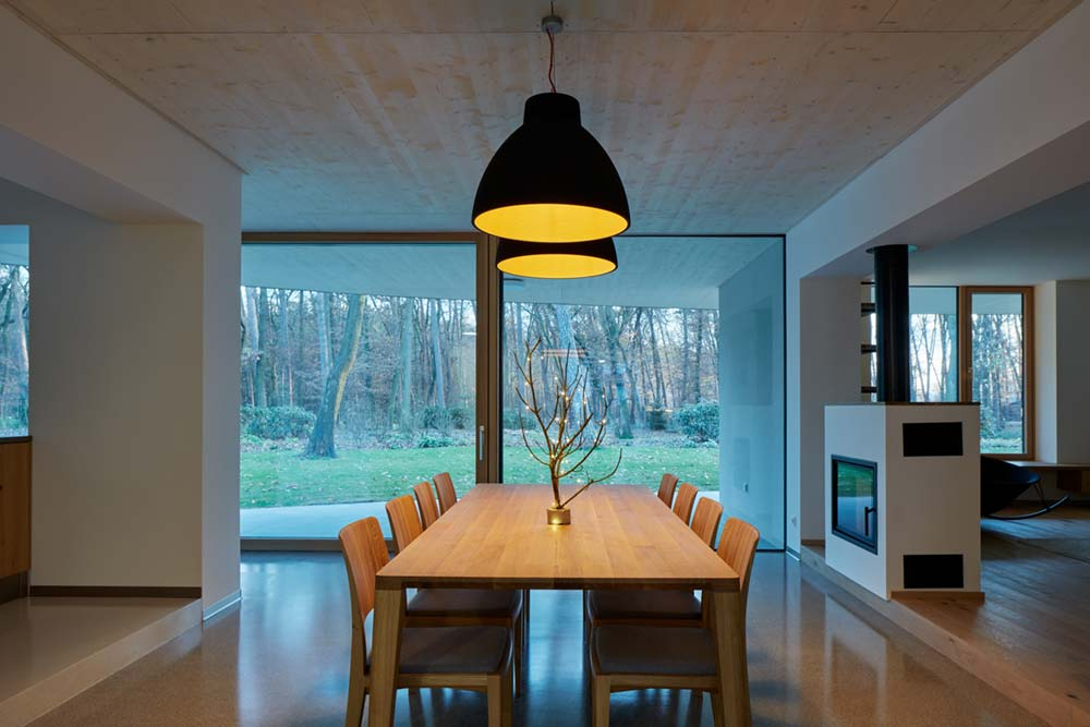 forest villa dining design - Forest Villa