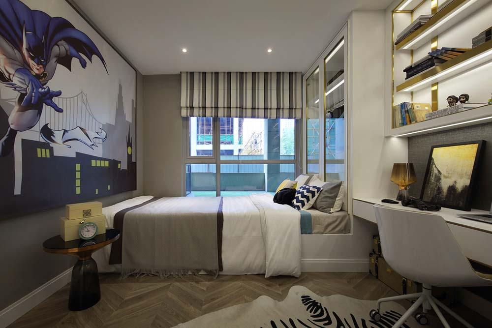 Batman Boy Bedroom Design