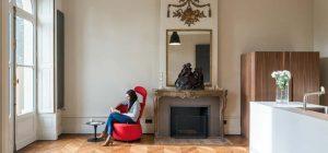 french mansion modern living 300x140 - Mansion L'hotel de Bethmann