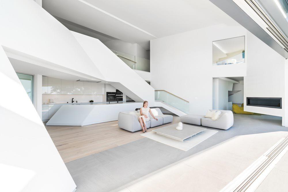 futuristic home design aa 1 1000x667 - Mulholland Drive Residence MU77