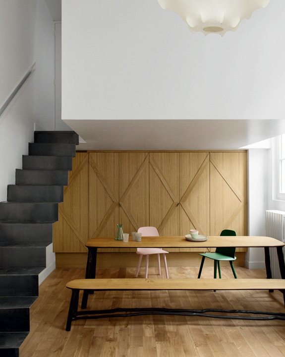 gallery loft marais fd3 - Le Marais Apartment: A Gallery Loft