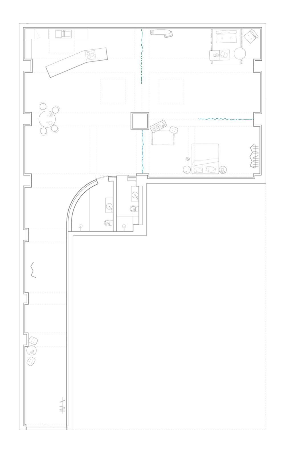 garage house conversion plan fa - Garage House