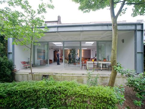 Charming Parksite: Garage Reincarnation In Rotterdam Idea