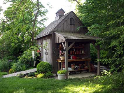 Garden Sheds New Hampshire pool & garden sheds: new england style -