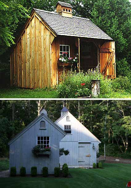 Design caller selected spaces the charm of backyard guest cottages - Backyard sheds plans ideas ...