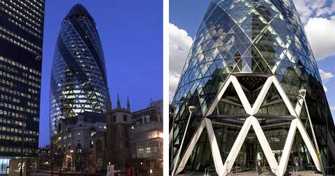 The Gherkin Building Modern Architecture